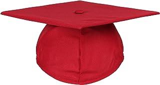 Newrara Unisex Matte Adult Graduation Cap Only