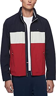 mens Stand Collar Lightweight Yachting Jacket