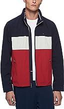 Tommy Hilfiger Men`s Stand Collar Lightweight Yachting Jacket