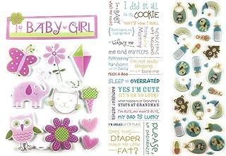 Best baby girl scrapbook stickers Reviews