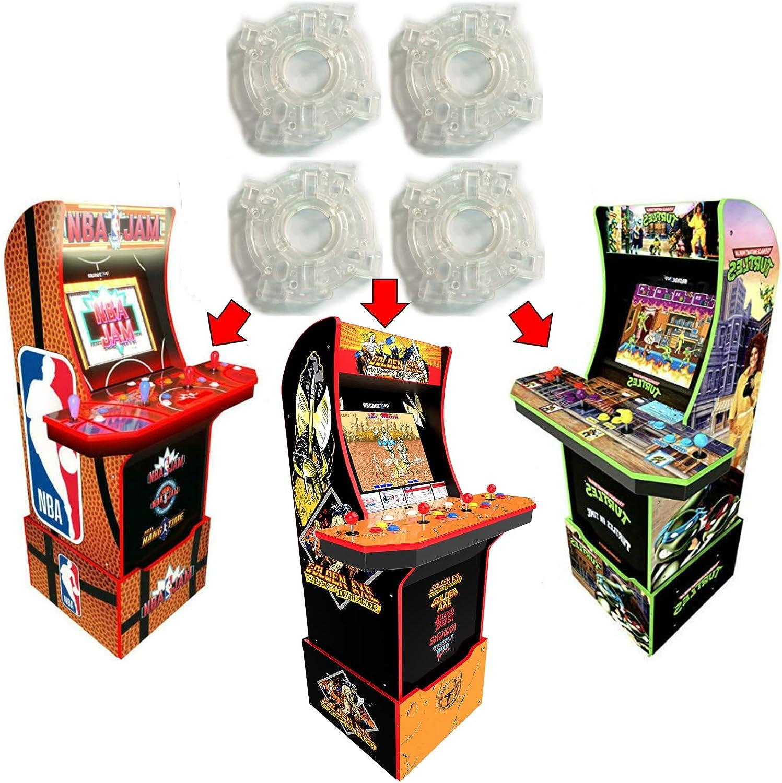 Alvatron Set of Al sold out. 4 Outlet sale feature Arcade Joystick Ar Gates Circle for Restrictor