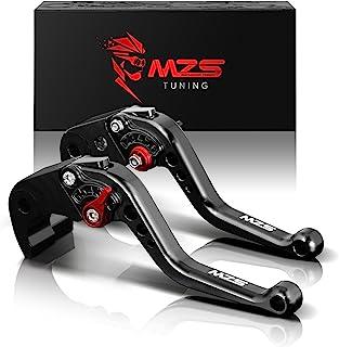 MZS オートバイ ブレーキ クラッチ レバー 6段調整 CNC ブラック 27813 用 ホンダ CBR 600 F2 F3 F4 F4i CBR900RR CB599 CB600 CB750 CB919 VTX1300 NC700X NC7...
