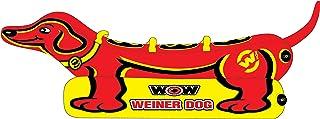 WoW Watersports Weiner Dog، Towable Tub، Pontunes Side Large برای شبانه روزی آسان