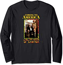Coming to America: King and Queen Zamunda Long Sleeve T-Shirt