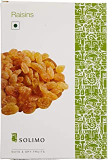 Amazon Brand - Solimo Premium Raisins, 500g