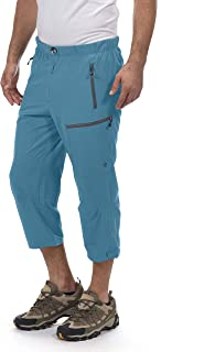 Little Donkey Andy Men's Outdoor Stretch Quick Dry Hiking Capri Pants