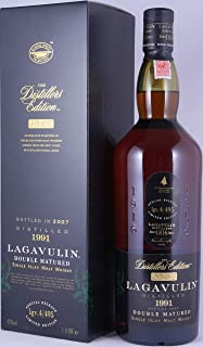 Lagavulin 1991 16 Years The Distillers Edition 2007 Special Release lgv.4/495 Double matured in Pedro Ximenez Sherry Wood Islay Single Malt Whisky 43,0% Vol. - besonders seltene 1,0l Abfüllung!