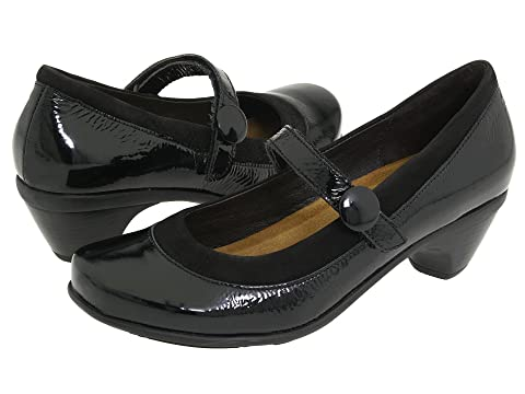 Black Nubuck Crinkle Naot Lace Black Leather Leather Gloss Patent Trendy Velvet Black NubuckBlack aqxr7va