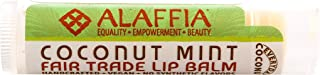 Alaffia, Lip Balm Coconut Mint, 0.15 Ounce