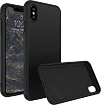 RhinoShield Full Impact Protection Case for [ iPhone X ], SolidSuit Series, Military Grade Drop Protection, Supports Wireless Charging, Slim, Scratch Resistant - Classic Black