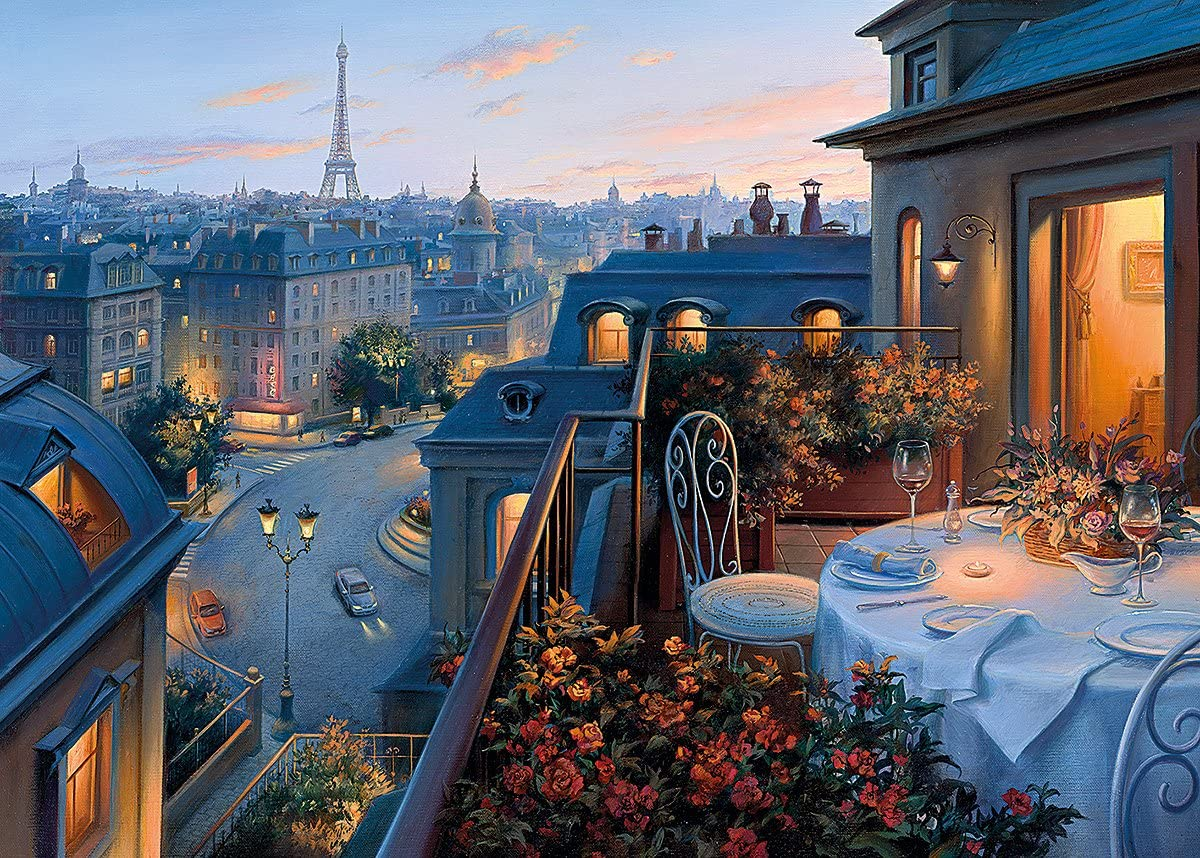 Details about  /New Paris Painting 1000 Piece Jigsaw Fantasy Puzzle Adult Kid Festival Gift