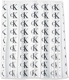 Calvin Klein Jeans Women's PLEATED SKIRT Skirts, White (Ck Aop White/black Logo 0LI), Small