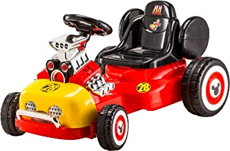 Kid Trax Disney's Mickey & The Roadster Racers Go-Cart Ride-On Toy