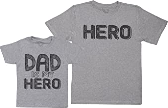 Baby Bunny My Dad is My Hero - Regalo para Padres e Hijos - Camiseta de Niño y Camiseta de Hombre