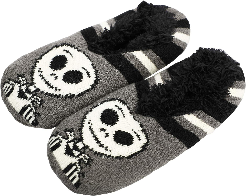 Nightmare Before CHristmas - Fuzzy Chibi Jack Slipper Sock