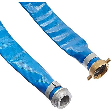 Sun-Flow Inc full roll SF-10 4 X 300 Bulk Layflat PVC Water Discharge Hose