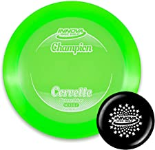 Innova Disc Golf Champion Corvette Disc Golf Driver with Limited Edition Stars Stamped Innova Mini – Colors Will Vary