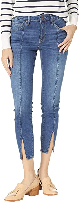 Tess High-Rise Skinny in Slit Shaded