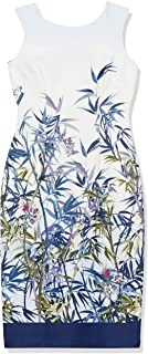 Julian Taylor Women's Garden Printed Sheath Dress