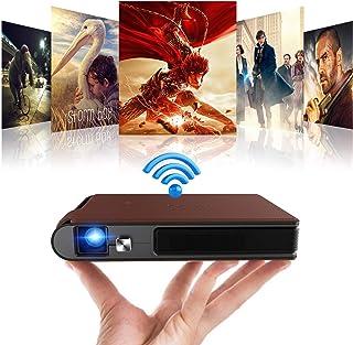Proyector DLP portátil compatible con Full HD/WiFi/Auto ±