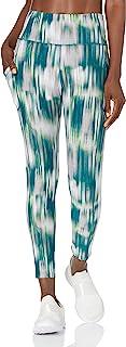 Calvin Klein Performance Women's Print Side Pocket High Waist 7/8 Legging Tight