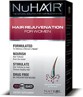 NuHair Hair Rejuvenation for Women Tablets, 60 Count
