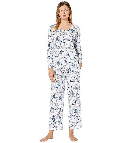 Karen Neuburger Last Waltz Long Sleeve Pullover PJ (Floral Ivory) Women