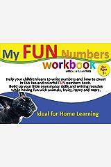 My FUN Numbers Workbook with supertuben Tekla Kindle Edition