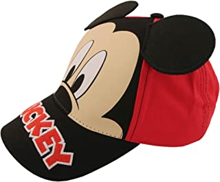 ff92aebab64 Disney Little Boys Mickey Mouse Character Cotton Baseball Cap