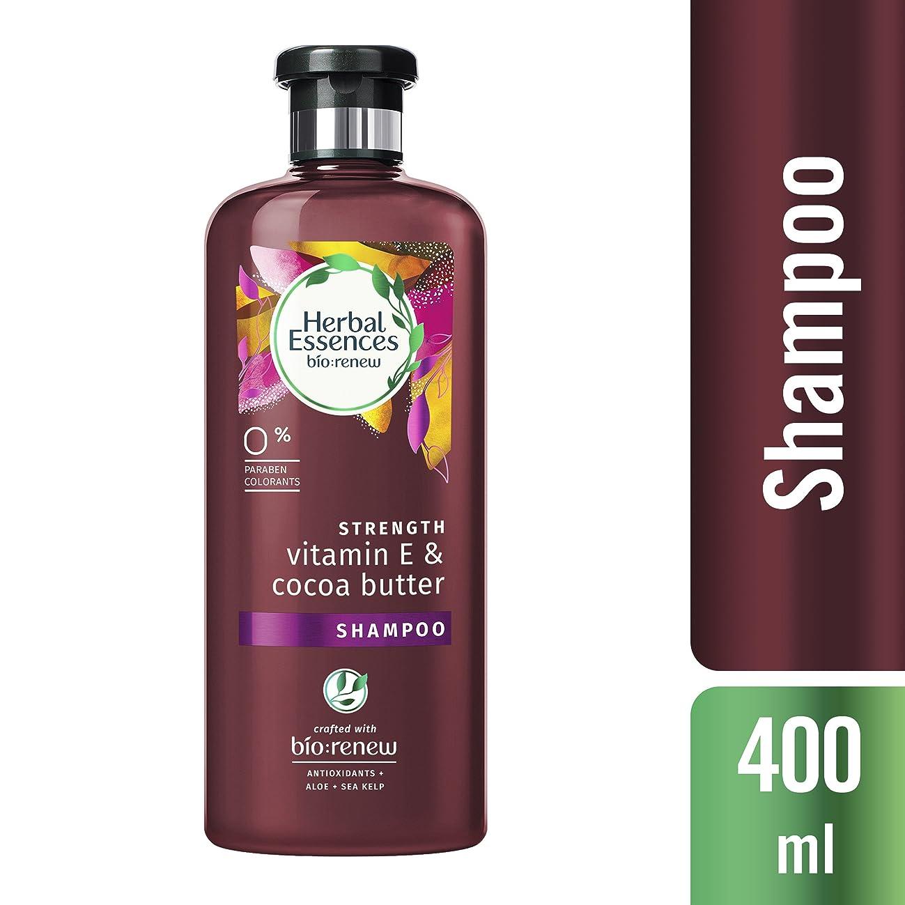 植物学熱オフセットハーバルエッセンス ビオリニュー 髪を補強して本来の美髪へ ビタミンE&ココアパウダー シャンプー