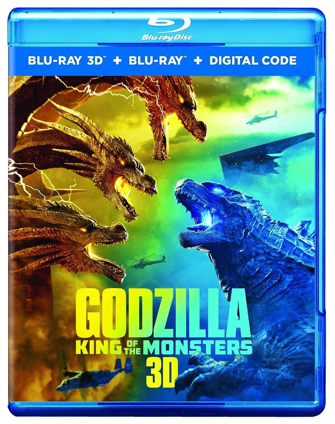 命令的煙動機付けるGodzilla: King Of The Monsters [Blu-ray]