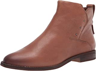 حذاء برقبة حتى الكاحل من Franco Sarto للنساء، رمادي داكن، 5