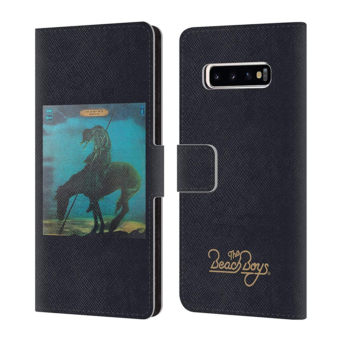 Official The Beach Boys Surfs Up Album Cover Art Leather Book Wallet Case Cover Compatible for Samsung Galaxy S10+ / S10 Plus lsctvvf295666