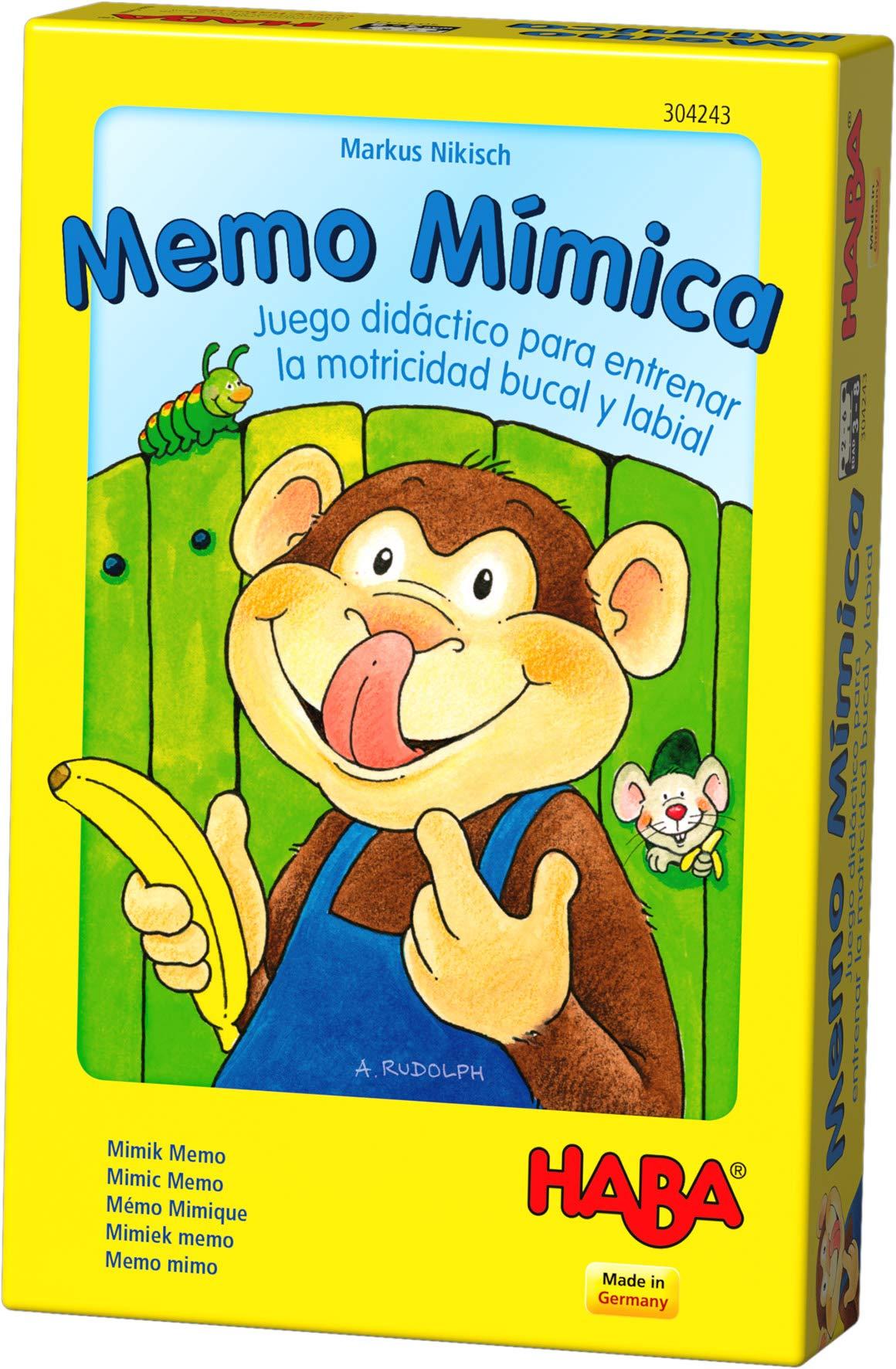 HABA- Juego de Mesa, Memo Mímica, Multicolor (Habermass H304243): Amazon.es: Juguetes y juegos