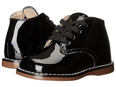 FootMates Todd 3 (Infant/Toddler) (Black Patent) Girls Shoes