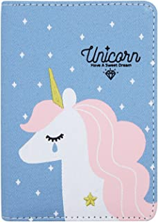 Aimeio Cartoon A6 Size Journal Agenda Schedule Pocket Notebook Weekly Monthly Planner Personal Organizer for Time Management, Goal Setting, Productivity& Happiness,Blue