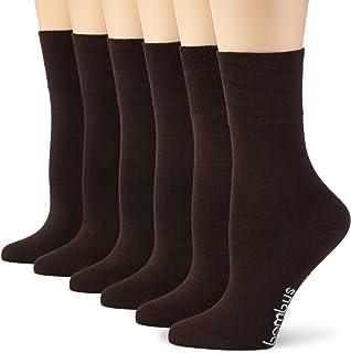 strümpfe braun Wowerat 6 Paar superweiche Bambus Socken für Sie und Ihn - Optimaler Tragekomfort - Kein drückendes Gummi - Ideal für Business, Sport und Freizeit