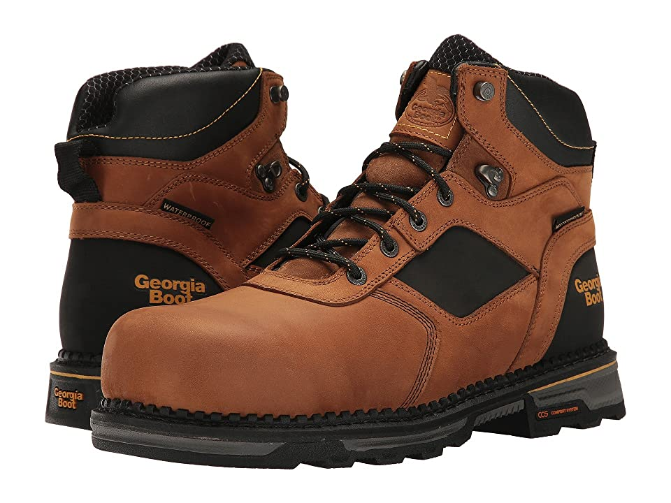 Georgia Boot Hammer HD 6 Comp Toe (Brown) Men