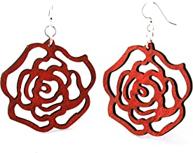 product image for Round Rose Earrings