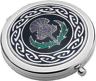 Ballpoint Pen Silver Plated Celtic Trinity Designer Black Ink Brand New Boxed