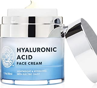 Hyaluronic Acid Moisturizer | Vegan, Organic, and Cruelty-Free Lotion with Electric Daisy
