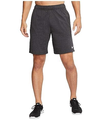 Nike Big Tall Dri-FIT Cotton 2.0 (Black Heather/White) Men