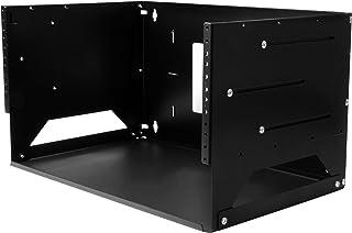 "StarTech.com WALLSHELF4U Wall-Mount Server Rack, Solid Steel, Adjustable Depth 12"" to 18"" Components Other"