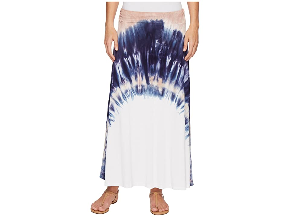 Tribal Soft Jersey Printed Maxi Skirt in Camelia (Camelia) Women