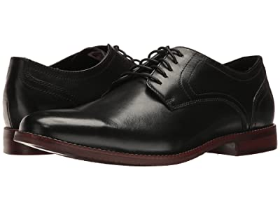 Rockport Style Purpose Plaintoe (Black Leather) Men