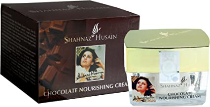 Shahnaz Husain Chocolate Nourishing Face Massaging Cream Free from Paraben, Sulfates, Mineral Oil, Synthetic Color, and Synthetic Fragrance (1.7 oz / 50 g)