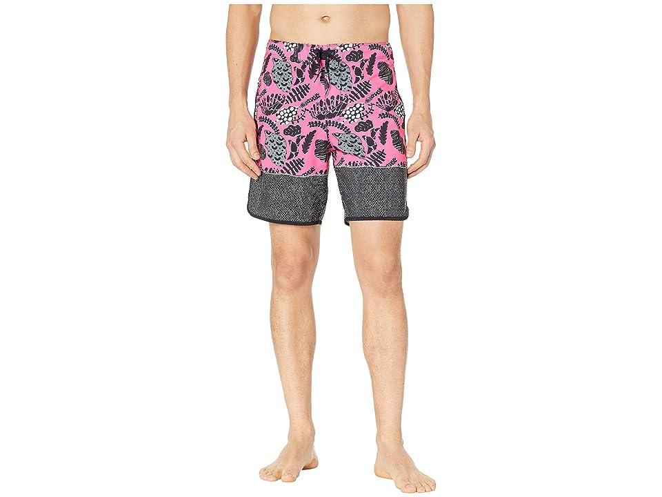 Hurley Phantom JW Nola 18 Boardshorts (Hyper Pink) Men