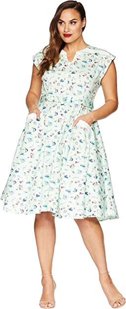 Plus Size Hedda Swing Dress