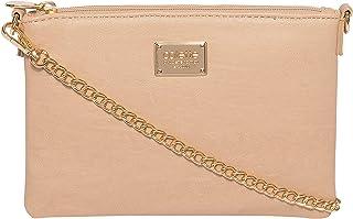 Nude Plain Peta Chain Crossbody Bag