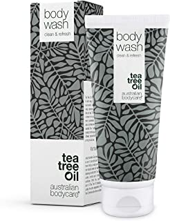 Australian Bodycare Body Wash 200 ml | Shower Gel with Tea Tree Oil for skin, Foot wash - Daily care Relieve spots, pimple...